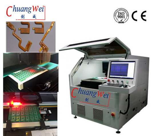 355nm Laser Wavelength  PCB & FPC Laser Separator Machine,Laser Cut Circuit Board,CWVC-5S