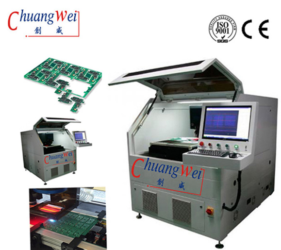 PCB Laser Cutting Machine/Laser Depanelizing Pcb/Pcb plate Machine/Cutter,CWVC-5S