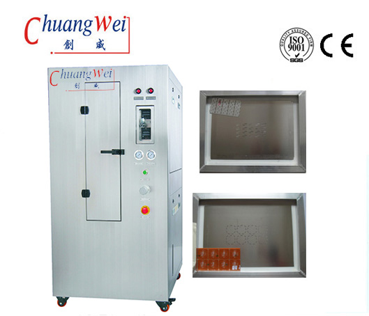 Pneumatic Stencil Cleaning Machine Stencil Cleaner For SMT Process,CW-750