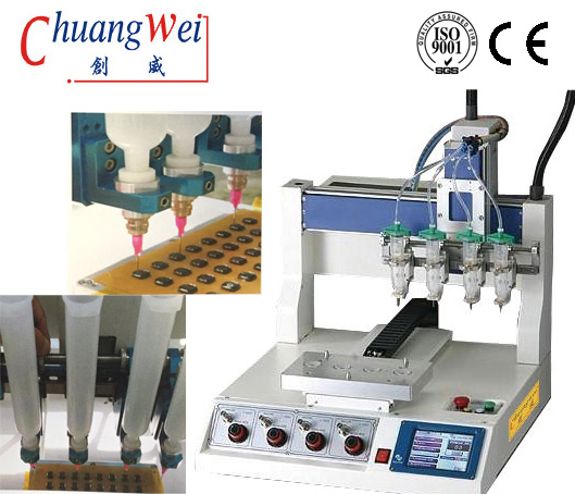 Low Noise SMT Glue Dispenser Equipment with CE Approval,CWDJ-314