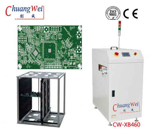 Inline SMT Magazine Loader for Loading Printed Circuit Boards, CW-XB460